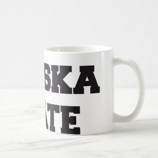 Alaska state coffee mug