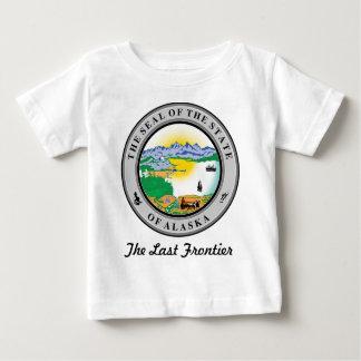 Alaska State Seal and Motto Baby T-Shirt