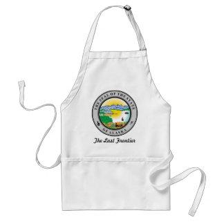 Alaska State Seal and Motto Standard Apron