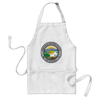 Alaska State Seal Aprons