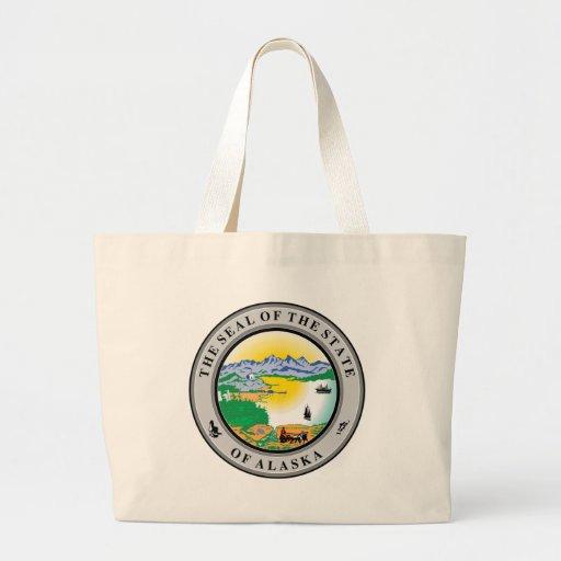 Alaska State Seal Bags