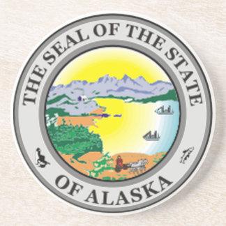 Alaska State Seal Coaster