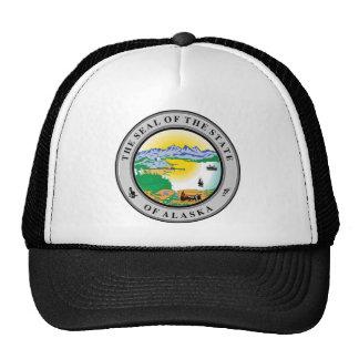 Alaska State Seal Mesh Hats