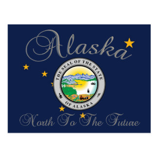 Alaska State Seal Post Card