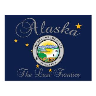 Alaska State Seal Post Card