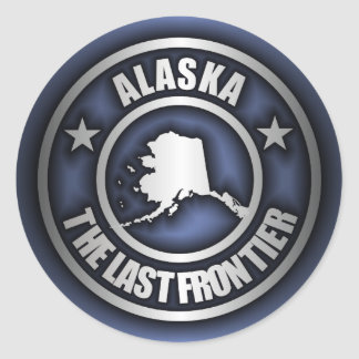 """Alaska Steel"" Stickers (Blue)"