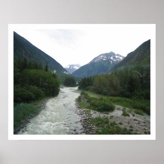 Alaska Stream Poster