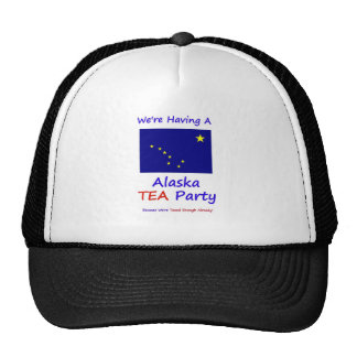 Alaska TEA Party - We're Taxed Enough Already! Cap