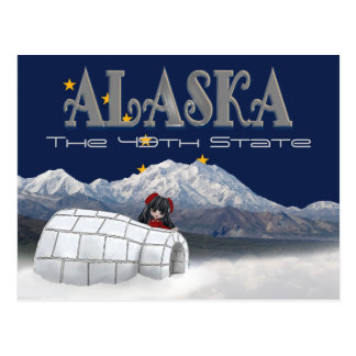 Alaska The 49th State Post Card