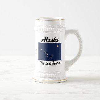 Alaska The Last Frontier Beer Stein