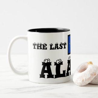 Alaska The Last Frontier Two Tone Mug by Janz
