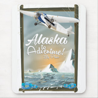Alaska To Adventure! Mouse Mat