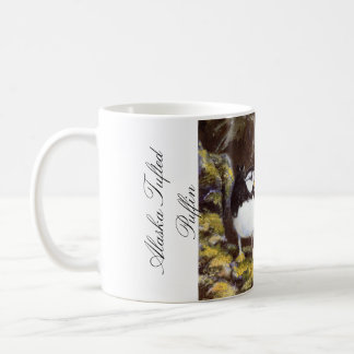 Alaska Tufted Puffin Basic White Mug