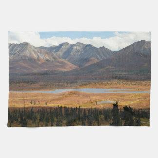 Alaska Tundra Tea Towel
