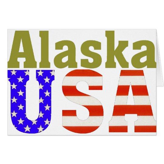 Alaska USA! Card