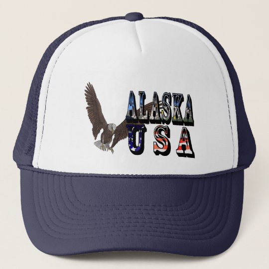 Alaska USA Eagle Baseball Cap