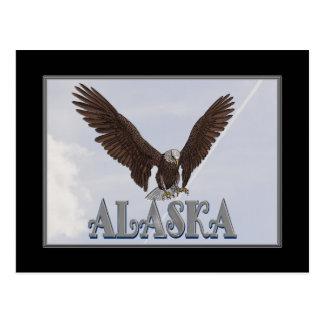 Alaska USA Flag Post Card