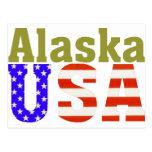 Alaska USA! Postcard