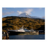 Alaska Victory, Fishing Trawler in Dutch Harbour, Poster
