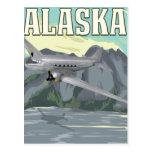 Alaska Vintage Travel Poster Postcards