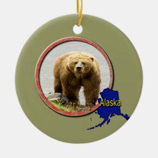 Alaska Wildlife Christmas Ornament