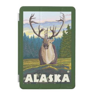 AlaskaCaribou in the Wild Vintage Travel iPad Mini Cover