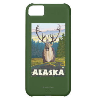 AlaskaCaribou in the Wild Vintage Travel iPhone 5C Case