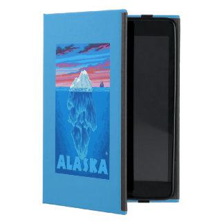 AlaskaIceberg Vintage Travel Poster iPad Mini Case