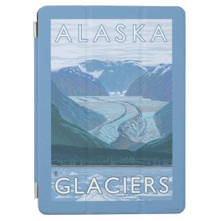 AlaskaLarge Glacier Scene Vintage Travel iPad Air Cover