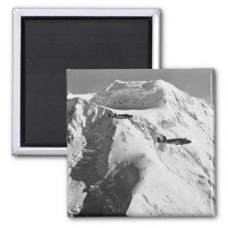 Alaskan Air, 1942 Square Magnet
