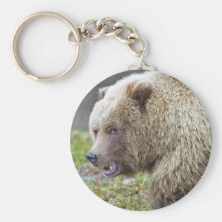 Alaskan Brown Bear Key Ring