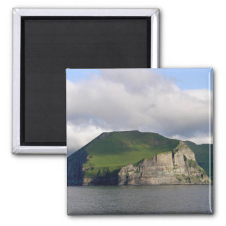 Alaskan Cliffs Landscape Fridge Magnet