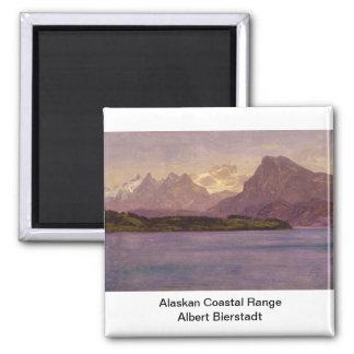 Alaskan Coastal Range Square Magnet