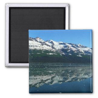 Alaskan Coastline Beautiful Nature Photography Square Magnet