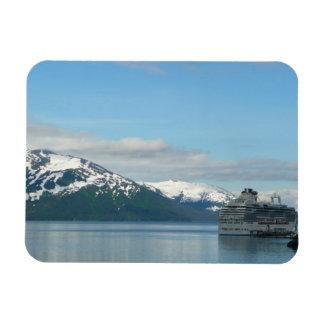 Alaskan Cruise Vacation Travel Photography Rectangular Photo Magnet