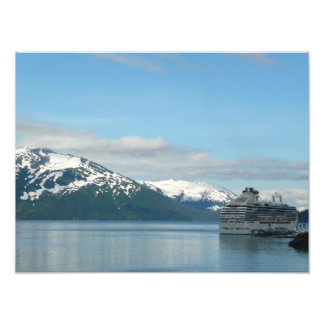 Alaskan Cruise Vacation Travel Photography Photo Print