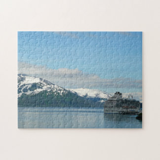 Alaskan Cruise Vacation Travel Photography Puzzle