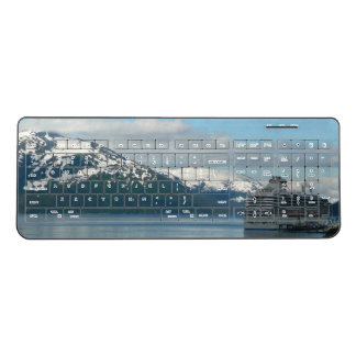 Alaskan Cruise Vacation Travel Photography Wireless Keyboard