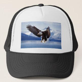 Alaskan Eagle In Flight Trucker Hat
