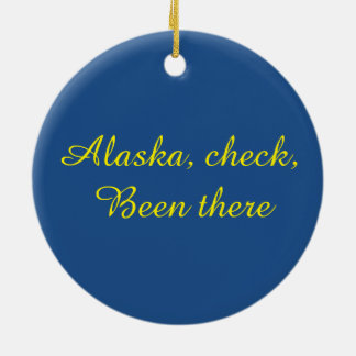 Alaskan eagle ornament