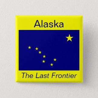 Alaskan Flag Button