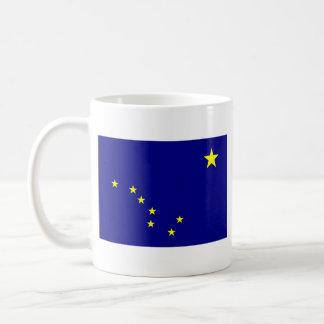 Alaskan Flag + Map Mug