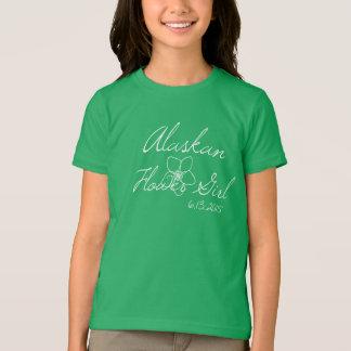 Alaskan Flower Girl Tee