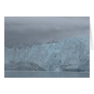 Alaskan Glacier Beauty Note Card