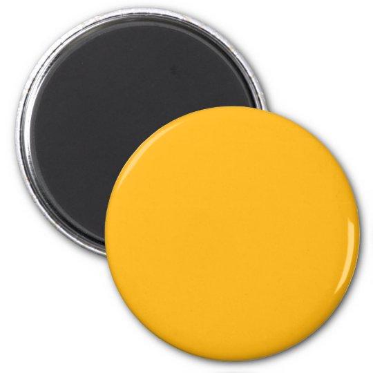 Alaskan Gold 6 Cm Round Magnet