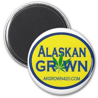 Alaskan Grown magnet