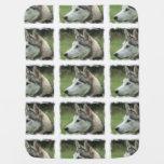 Alaskan Husky Stroller Blankets
