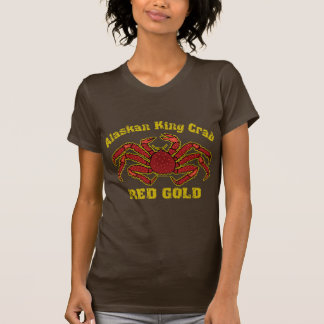 ALASKAN KING CRAB RED GOLD T-Shirt