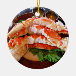 Alaskan King Crabs Christmas Ornament