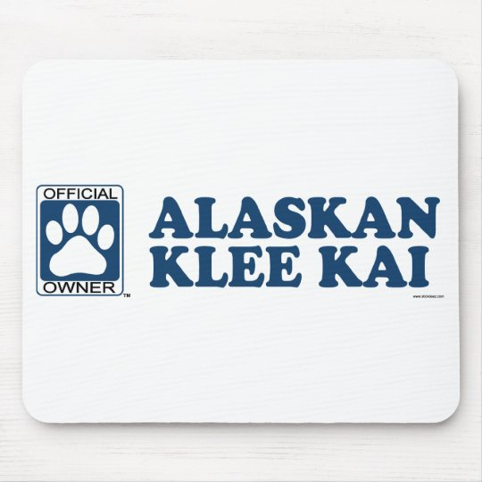 Alaskan Klee Kai Blue Mouse Pad